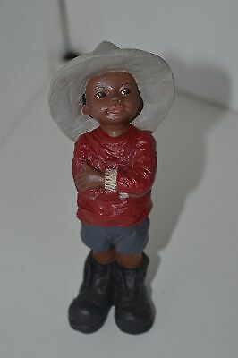 All God's Children Figurine Black Americana Holcombe Zack  #74
