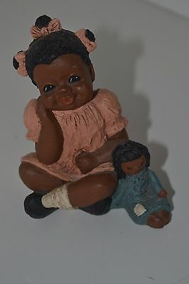 All God's Children Figurine Black Americana Holcombe Rachel #51