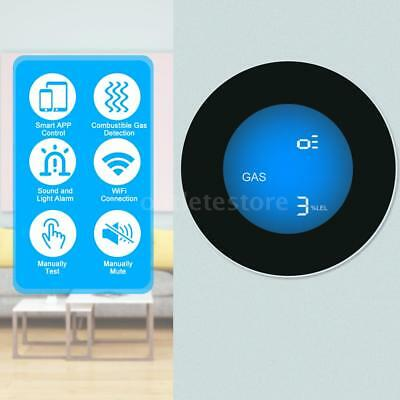 WIFI Gas Detector Household Combustible Gas Leak Tester Sniffer APP Notification