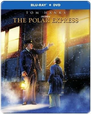 The Polar Express [New Blu-ray] With DVD, Steelbook