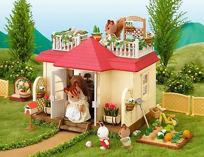 Sylvanian Families Calico Critters Beechwood Hall Luxury Town House Terrace