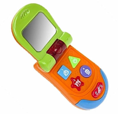 Baby Toddler Kids Electronic Early Learning Toy Musical Flip Phone 12 Months +