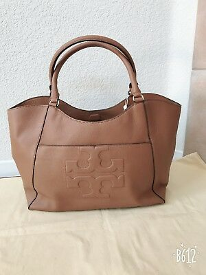 NWT TORY BURCH Bark ( Brown) Large   Bombe T East West