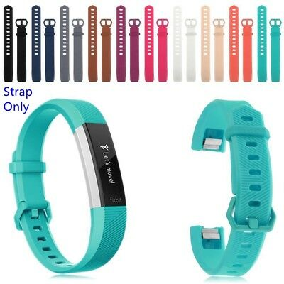 Wristband Silicone Watch Strap With Buckle Bracelet  For Fitbit Alta/ Alta HR