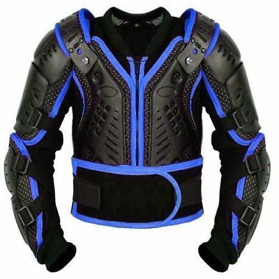 Kids Motorbike Body Armour & Protectors MOTOCROSS Guard Protection Jacket Armors
