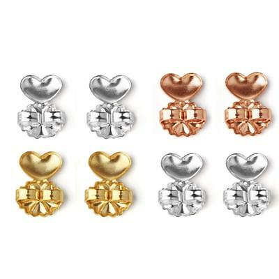 Unique Lovely Earring Backs Support Lifts Fits all Post Earrings BA