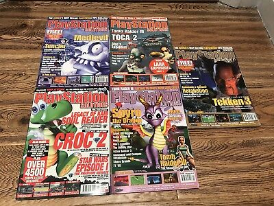 PlayStation Solutions Magazines X5 Vol:3 Issues 2,3,4,5 + Vol 4 Issue 1 VGC