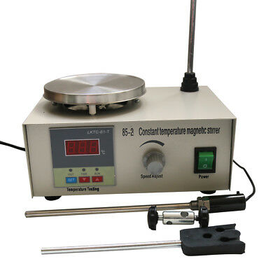 Laboratory Constant Temperature Magnetic Stirrer Hot Plate Convenient To Use