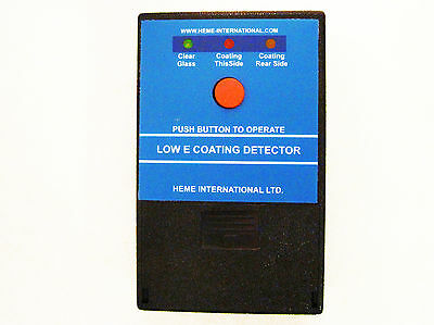 Heme Low - E Coating Detector