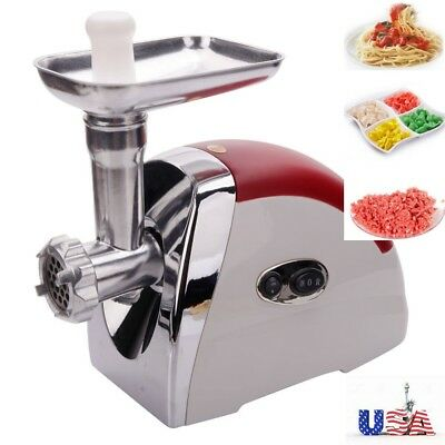 2000W Electric Sausage Maker Meat Mincer & Grinder Auto Operated Kitchen Tool