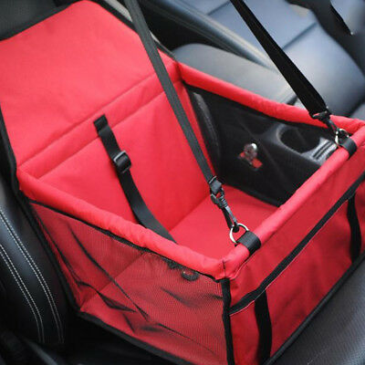Waterproof Pet Dog Puppy Cat Carrier Car Seat Cover Pad Safe Carry Bag Basket
