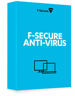 F-Secure Antivirus 2019 Latest Version - 1 PC 1 Year (e-Delivery)