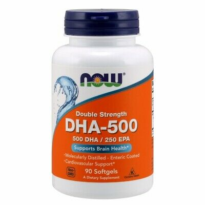DHA-500 90 Softgel By Now Foods