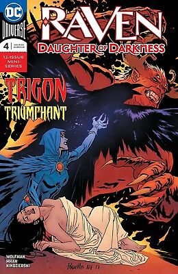 RAVEN Daughter of Darkness (2018) #4 - New Bagged