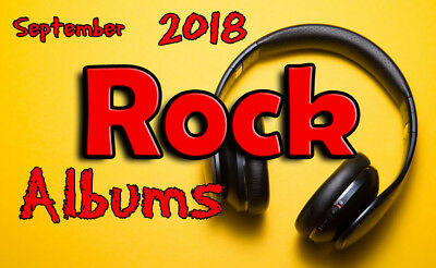 September 2018 ROCK MUSIC Albums - Buy one or more  - Mp3  - Download NOW