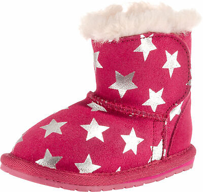 the latest f0e5b a2590 EMU AUSTRALIA BABY Stiefel Winterstiefel Fell Boots 12-18 ...