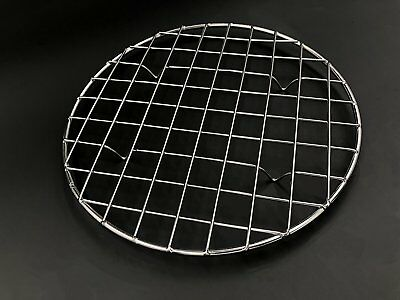 U.S Multi-Purpose 304 Stainless Steel Round Baking and Cooling Rack, 8.25-Inches