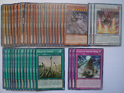 Trident Dragion Dragon Deck * Ready To Play * Yu-gi-oh