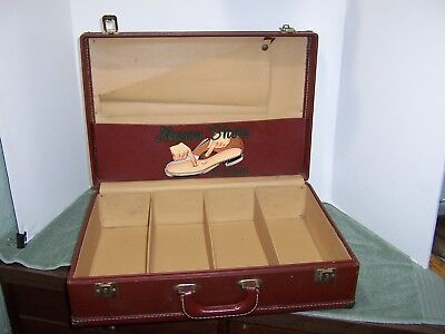 Cool Vintage Salesman Sample Case, Suitcase Mason Shoes