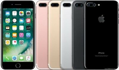 Apple iphone 7 Plus 128GB  4G LTE (Factory Unlocked) 1-Year Warranty FRB