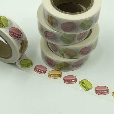 WASHI TAPE 15mm x 10m - Macaroons