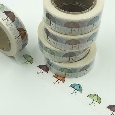 WASHI TAPE 15mm x 10m - Umbrellas