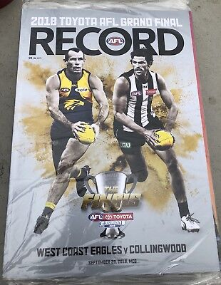 2018 AFL Grand Final Day Record Edition West Coast Eagles vs Collingwood Magpies