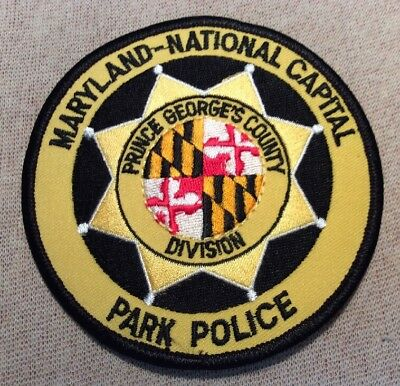 MD Maryland-National Capital Park Police Prince George's Co. Division Patch