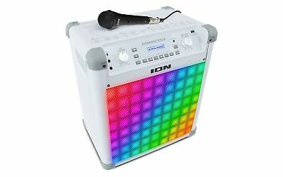 ION Audio Portable Karaoke Speaker with Vocal Effects