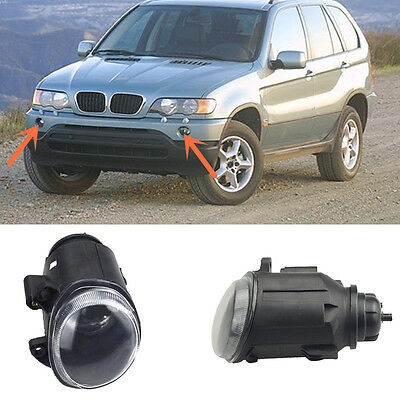 Reflector Housing Front Fog Light Lamp For BMW E53 X5 3.0i 4.4i 4.6is 1999-2003