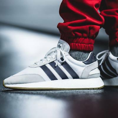 san francisco cbca5 c44ed ADIDAS I-5923 Boost Men Running White Navy Gum Lifestyle Shoes B37947 Iniki  NMD
