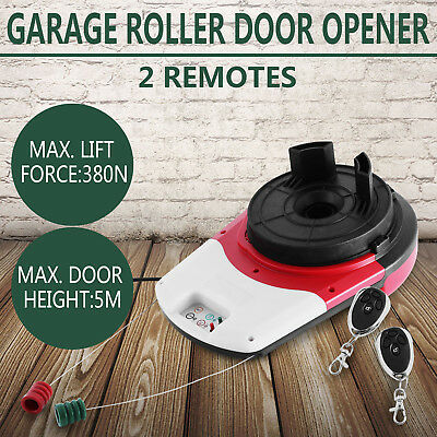 Automatic Remote Control Garage Door Opener 433.92 MHZ 164FT max 380N LED Light