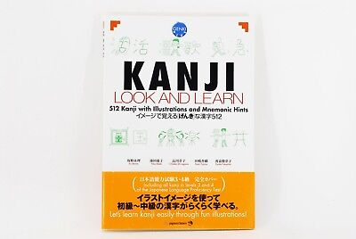 NEW KANJI LOOK AND LEARN  work Study Japanese GENKI PLUS  from Japan F/S