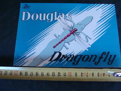 BROCHURE ORIGINALE DOUGLAS DRAGONFLY MOTORCYCLE old vintage