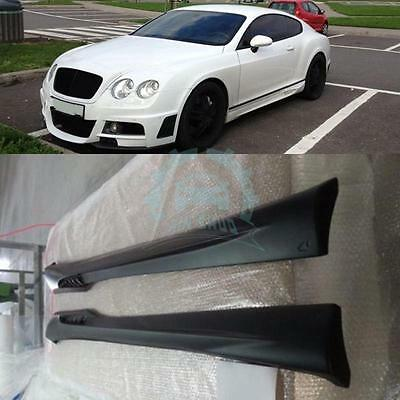 Bodykit Exterior Auto Parts Side Skirts For BENTLEY CONTINENTAL GT/GTC 2004-2011