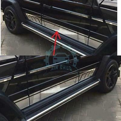 ABS Chromed Auto Side Decal Strips Trims New For Mercedes-Benz W463 G-class G63