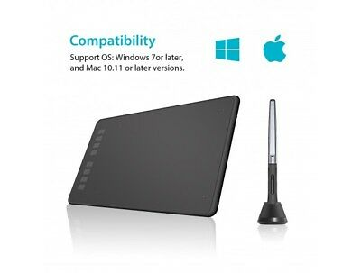 Huion Inspiroy H950P Graphics Drawing Tablet with Tilt Response