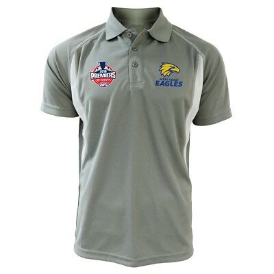 West Coast Eagles 2018 Mens Premiers Polo Shirt Sizes S-3XL S2 ***In Stock***