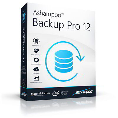 Ashampoo Backup Pro 12 dt. Vollver. lifetime Download nur 24,99 statt 49,99 EUR