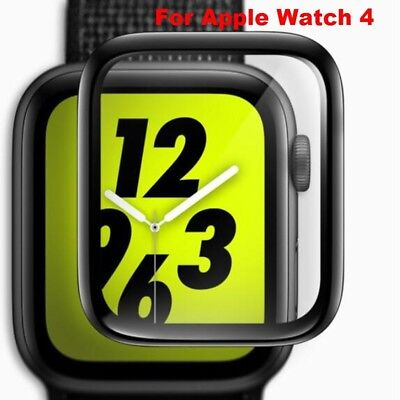 For Apple Watch 4/3/2/1 40MM/44MM 3D Curved Full Tempered Glass Screen Protector