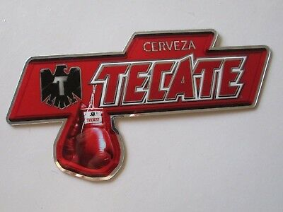 NEW Tecate Cerveza Boxing Acrylic Mirror Style Beer Man cave Bar Pub Sign MMA