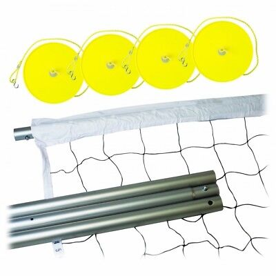 (1) - Franklin Sports Expert Steel Volleyball Post and Net System. Huge Saving