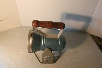 Vintage Star Battery Operated Railway Lantern Vgc