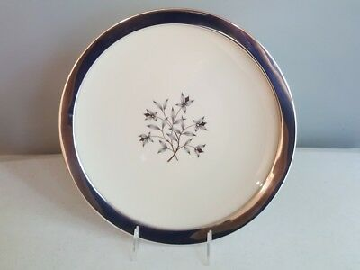 Sterling Silver Rimmed Dinner or Serving Plate Princess Pattern by LENOX Scarce