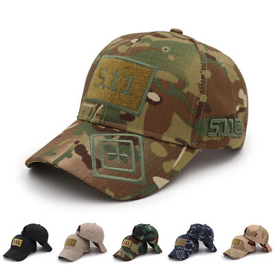Cap Hat Baseball Tactical  Camouflage Logo 5.11 Outdoor Softair Airsoft Hunting