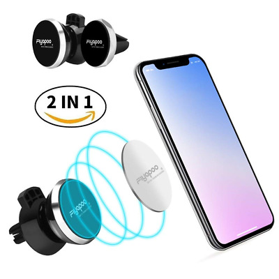 1+1 Universal Powerful Magnetic Car Phone Mount Holder Air Vent for Smartphone