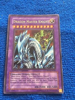 DRAGON MASTER KNIGHT - LIMITED EDITION HOLO FOIL UE02-EN001 - Ultra Rare YuGiOh