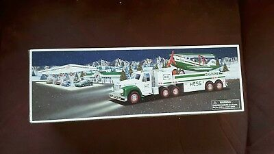 2002 Hess Toy Truck & Airplane - New In Box