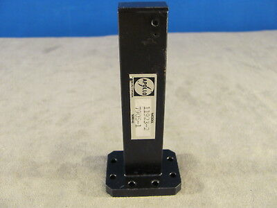 """Waveguide WR75 Low Power Termination Ku-band 10 to 15 Ghz ,length 4.00"""" <258>"""