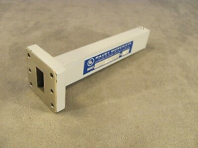 "Waveguide WR75 Maury Microwave Precision Low Power Termination length 5.00""<259>"